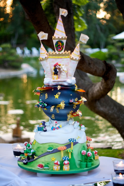 Supermariokartweddingcake